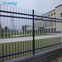 Outdoor Galvanized then Powder Coated Temporary Picket Fence