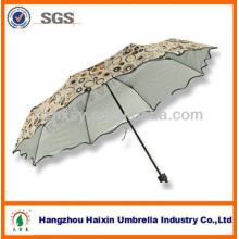 New products for 2017 parasol umbrella with pretty design