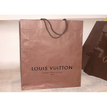 Logotipo personalizado impresso saco de compras de papel de moda