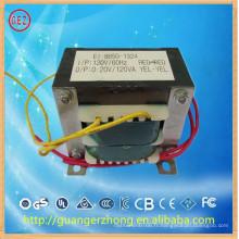 Fabrication chinoise EI 86 240v ac 19v 4.74a transformateur