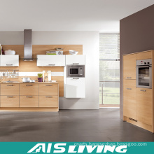 Soild Wood Nature Colour Kitchen Cabinets Furniture (AIS-K294)