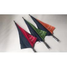 Logo premium advertising promotional prints golf umbrellas, manual open custom logo golf umbrella print