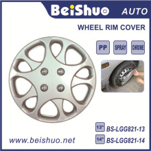 Silver Hub Caps Skin Rim Cover for OEM ABS Wheel