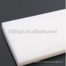 Feuille en plastique de PE de résistance à la corrosion, feuille de polyéthylène