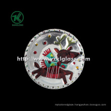 Single Wall Color Glass Plate by SGS (KLP110824-8A2)