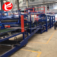 Steel sandwich panel roof sheet roll forming machine