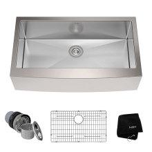 302010R Undermount Hand Made Overlap Sink