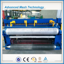 PLC control welded wire mesh production line