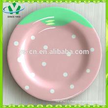 Wholesale Children Dinnerware Ceramic Decorative Plate