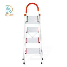 Escalera de aluminio para el hogar con pasamanos y esponja