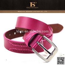 Made in china promotional name branded belts