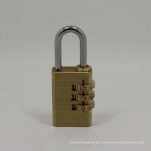 Llave de combinación de latón 3 llaves de código de marcación (110283)