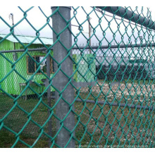 Factory Price Pvc Coated Temporary Galvanized  Chain Link Mesh Fence Panels