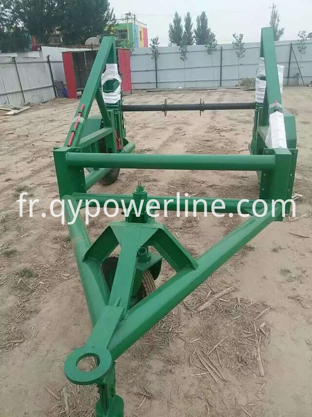 Multi-function Cable Reel Trailer Machine