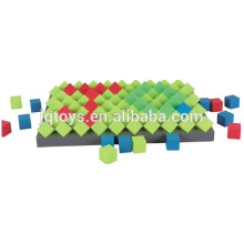 Develop intelligence educational square blocks