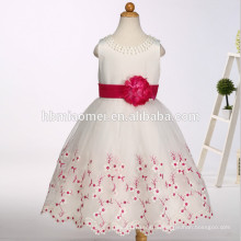 последние дети платье конструкции цветок девочки платья