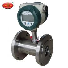 Bärbar PP Adblue Def flytande turbinflödesmätare