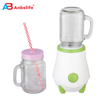 bike travel eco-friendly BPA-free sport bottle blender with detachable knife 250W 350/450/600ML removable blender jar available