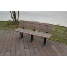 Anti-Peeling Anti Hinchamiento Mold-Resistant Timber Composite Park Bench