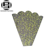 Custom printing opp plastic flower flat bags