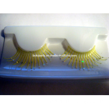 Yellow Eyelashes with Shining Paillette (BL130412)