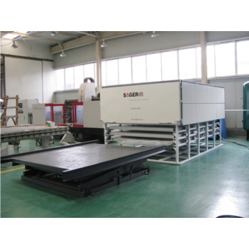 Two Floors Glass Lamiantion Furnace