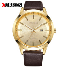 Minimalist All Stainless Steel Men Quartz Watches