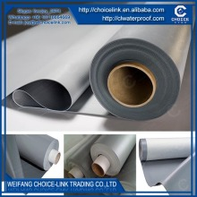 for underground non woven backing PVC waterproof membrane