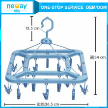 Easy to Use Rotatable Plastic Hanger