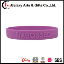 Embossed Silicone Wristbands/Silicone Hand Band