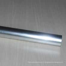 Tubes ronds en aluminium 6063 adaptés aux besoins du client