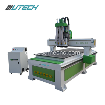 Three processes woodworking machine cnc router