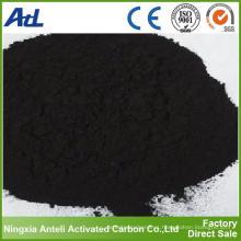 uso médico del precio de fábrica polvo de carbón activado en venta