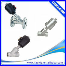 2/2Way Stainless Steel Angle Seat Valve with Actuator