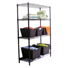 Powder Coating Home Decorate Storage Wire Shelf (LD12035180A4C)