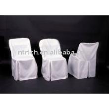 Housses de chaise pliante en polyester de charme