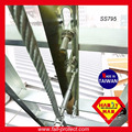 Стальной промежуточный пункт анкера нержавеющая лестница для кабеля 8мм