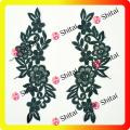 Flower Embroidery Lace Appliqued
