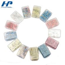 Caixas de ferramentas plásticas pequenas transparentes para a tubulação do psiquiatra do calor