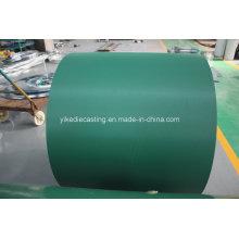 Bobine en acier galvanisée enduite par couleur de résistance de fondu