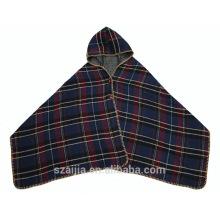 Señoras confeti invierno suéter poncho chal