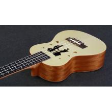 Couple custom graphics ukulele