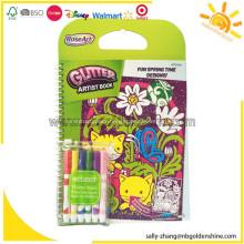 RoseArt Glitter Artist Coloring Book