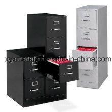 Gabinete de arquivamento vertical de escritório de escritório com gaveta de 4 gavetas