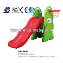 Hotsale Crianças Plastic Play Estruturas Slide Structures