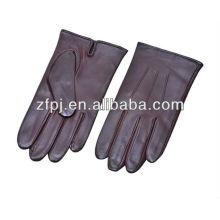 Custom Herren Auto fahren Leder Handschuhe Hersteller in China