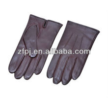 Custom Men car driving Leather Gloves manufacturer in china