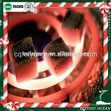 Feiyang de alta dureza coco cubo shisha carbón de leña