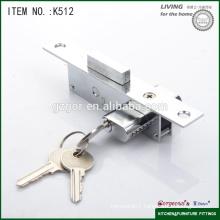 security two side hidden aluminum door lock