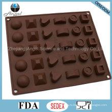 30-ти полосный силиконовый ледяной поддон Шоколадный пудинг Джерри-пресс Si27